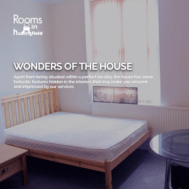 WONDERS OF THE HOUSE | Rooms in Huddersfield